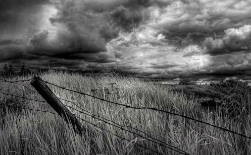 landscape, black and white, fineart, fine art, infrared, Dan Jurak, Alberta, storm, clouds, summer,