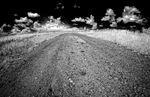 infrared, lifepixel, landscape, black and white, summer, farm, rural, #explorealberta, road, rural, farm, Dan Jurak, landscape,