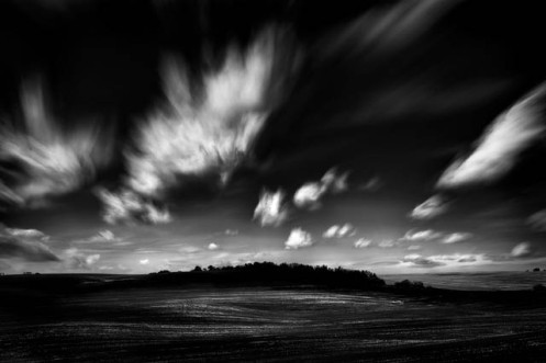 Alberta, landscape, minimalist, landscape, black and white, fineart, fine art, landscape, Dan Jurak, clouds, black and white,