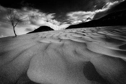 sand dunes, jasper, mountains, monochrome, black and white, waves, summer, jasper national park, alberta, canada, dan jurak, landscpae,