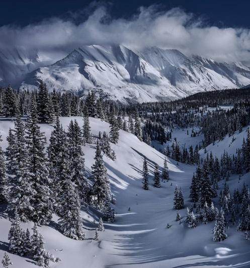 snow, winter, Banff, rockies, mountains, Alberta, landscape, Dan Jurak,